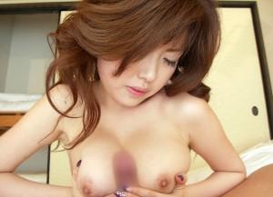 (ぱいずりえろ写真)お乳好きならやっぱりぱいずりは外せない性技だよな☆?