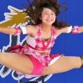 【チアガールエロ画像】チアガールたちの大開脚した股間にズームイン!