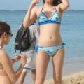 【素人水着エロ画像】素人娘たちの無防備すぎる水着姿にうっかり勃起しそう!