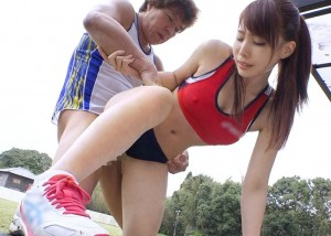 【エロ動画】ユニフォームごとビッショリ!スポ魂美少女の汗だくファック(*゚∀゚)=3