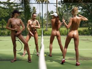 (裸スポーツえろ写真)一体なぜ裸で☆?裸でスポーツする海外女子がめちゃえろッ☆