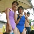【水着胸ポチエロ画像】水着に浮き彫りになった女の子の乳首に感動!www