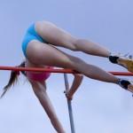 【アスリートエロ画像】華麗に跳ぶ食い込み尻!陸上競技で一瞬のエロスを捕捉(;´Д`)