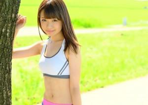 【エロ動画】超可愛い18歳ランナーが初AVで大量汗だく絶頂!(;゚∀゚)=3