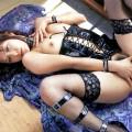 【ボンテージエロ画像】非常にSっ気の強いイメージのボンテージに身を包んだ女の子!