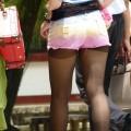 【ホットパンツエロ画像】街中でよく見かけるホットパンツもこうしてみるとエロいな!