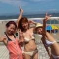 【素人水着エロ画像】素人娘たちの生々しい水着姿って興奮するよな?