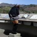 【風パンチラエロ画像】スカートが風が舞い上がる→撮った!ってやつw