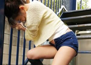 【エロ動画】松潤には見せられない…wトイレ禁止の大量お漏らし羞恥(*゚∀゚)=3