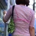 【着衣透けエロ画像】街中で着衣が透けちゃってる素人たちのエロス!
