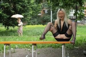 (海外露出えろ写真)海外発信の外露出写真☆海外の女子たちの大胆さに脱帽☆