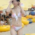 【素人水着エロ画像】まもなく夏本番!?待ち遠しすぎる素人娘たちの水着姿!