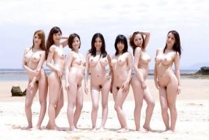 (ぬーどえろ写真)人の好みは十人十色☆?女子の裸を見比べてみようずww