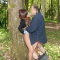 【野外セックスエロ画像】野外でセックスに励むカップルたち!素人モノ混合!