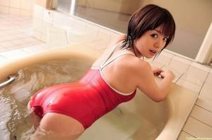 (スクール水着えろ写真)マニアックなんだけど、この姿にムラムラしてしまう☆スクール水着の女子☆