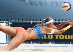 (アスリートえろ写真)常に食い込みながらボールを追うビーチバレー選手の尻☆(;´∀`)