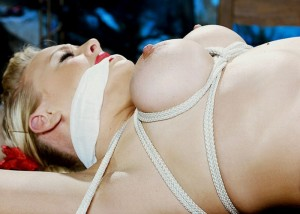 (SMえろ写真)縛り過ぎ注意☆縄に囚われた被虐の生お乳(;´Д`)