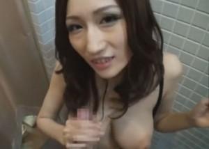 (えろムービー)飛びっ子デートで恥じらいながらも絶頂を我慢できないロケット乳モデル☆(;゚∀゚)=3