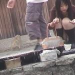 【パンチラエロ画像】街中で見つけた素人娘たちのパンチラ狙った結果!www