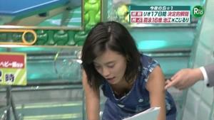 【放送事故エロ画像】テレビの番組内で起こったエロハプニングがこちらwww