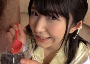 (えろムービー)ぶっかけと食ザーの魅力に溺れてごっくんしまくる美10代小娘10代小娘☆(*゚∀゚)=3