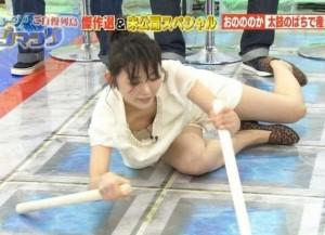 (放送事故えろ写真)偶然か必然か☆?テレビでおこったえろハプニング☆