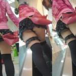 【ローアングルエロ画像】ナナメ下!ローアングルから女の子の股間を狙い撃ち!