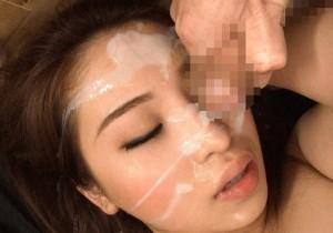 (ガン射えろ写真)女子のカワイい顔が男の欲望の汁まみれのガン射写真集めたった☆