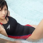 【競泳水着エロ画像】こんなにエロい水着が競泳用だと…!?エロ杉注意の競泳水着!