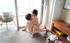 【対面座位エロ画像】向かい合い、見詰め合ってのセックスが可能な愛ある体位!