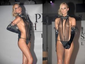【ファッションショーエロ画像】朗報!世界のファッションショーはこんなにエロかったwww