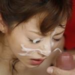 【顔射エロ画像】女の子の顔が男の欲望の汁まみれの顔射画像がエロ杉!wwww
