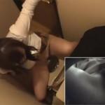 【エロ動画】ウォシュレットをオナニーに利用するお姉さんのトイレ盗撮!(;゚∀゚)=3