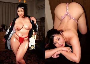 【由來ちとせエロ画像】淫乱レベルかなり高めなムッチリ爆乳お姉さん・由來ちとせ!