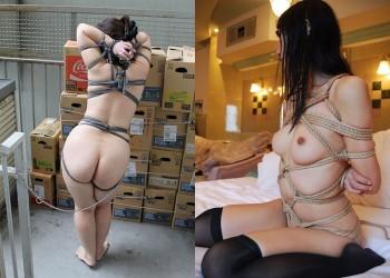 【緊縛エロ画像】ドMは密かに多い…縛られ好きな変態素人達の縄化粧自慢!(;^ω^)